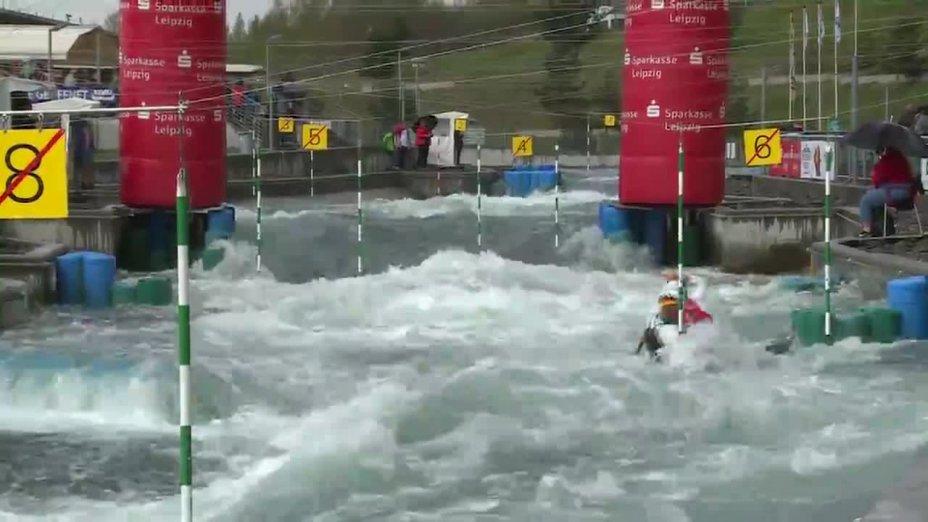 Behling / Becker - Quali 2015  Rennen 2 C2-Herren-Finale / Markkleeberg