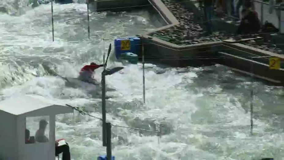 Laurenz Laugwitz - Quali 2015 |Rennen 2|K1-Herren-Finale / Markkleeberg