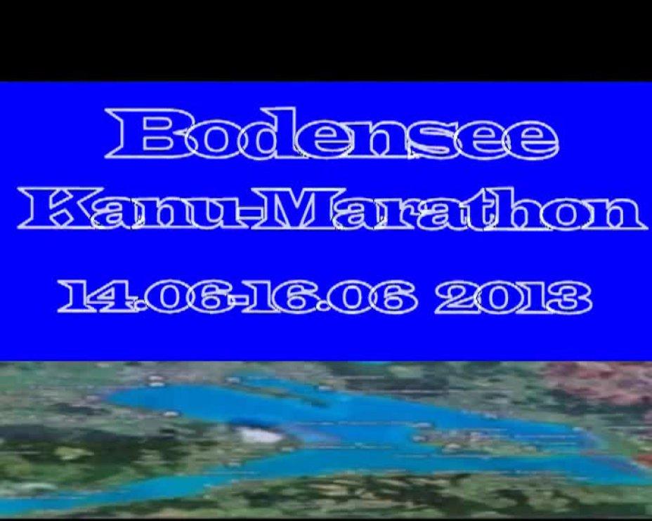 Bodensee-Kanu-Marathon - Rückblick 2013 - Einladung 2014