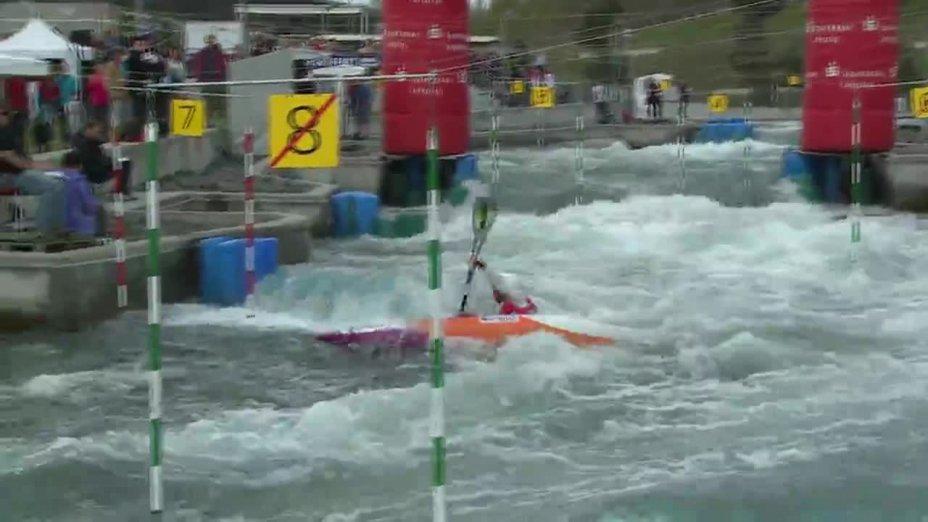 Fee Maxeiner - Quali 2015 |Rennen 2|K1-Damen-Finale / Markkleeberg