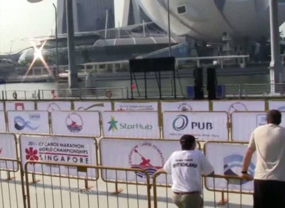 Kanu Marathon WM Singapur 2011 K1 Damen Juniorinnen
