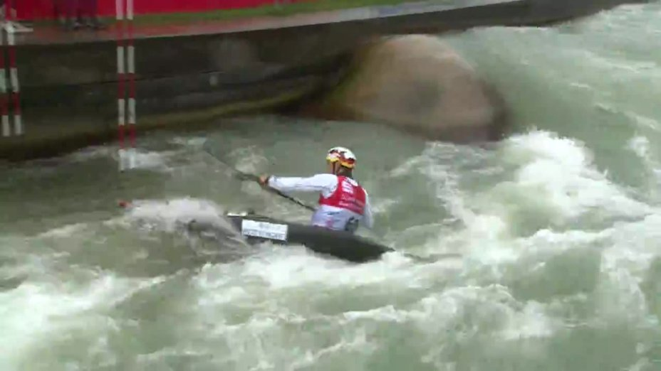 Sebastian Schubert - Quali 2015  Rennen 4 K1-Herren-Finale / Augsburg