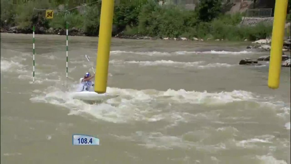 Zusammenfassung Kanu-Slalom Weltcup in Tacen 2014